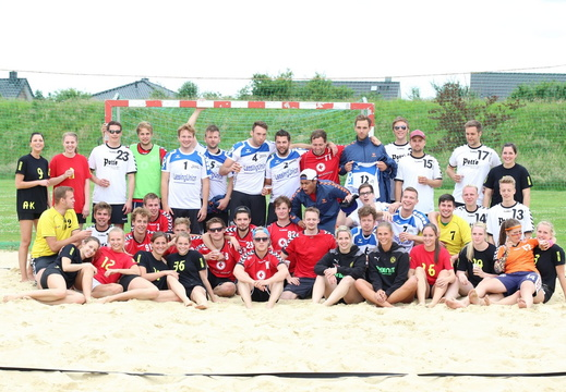 Beachhandball 2014